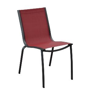 CHAISE LINEA GREY/ ROUGE