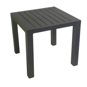 TABLE BASSE LOU 40X40CM COLORIS GREY