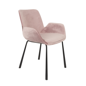 Fauteuil BRIT pink - ZUIVER