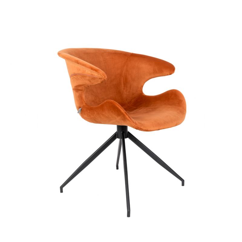 Fauteuil MIA orange - ZUIVER