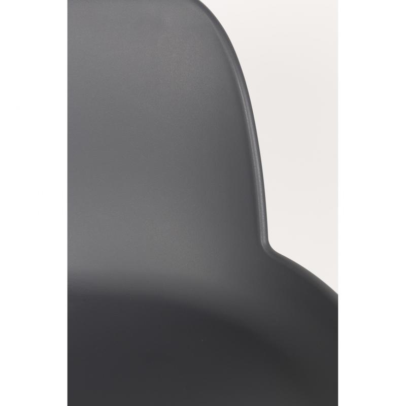 chaise haute albert kuip coloris dark grey 65 cm zuiver. Black Bedroom Furniture Sets. Home Design Ideas