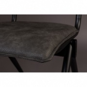 Chaise vintage Willow - anthracite - Dutchbone