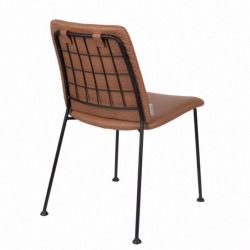 Chaise FAB marron - ZUIVER
