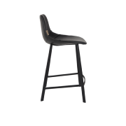 Chaise haute FRANKY h65cm black - Dutchbone
