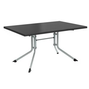 TABLE KETTALUX 160X95 ARGENT/ANTHRACITE