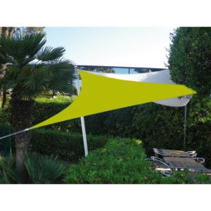 Voile Easy Sail triangulaire 4x4x4m coloris vert anis