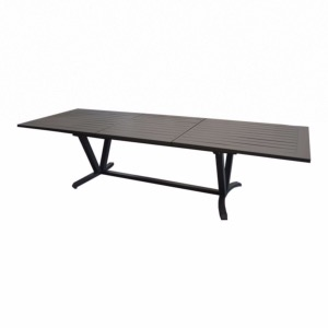 Table Aube 220/300 cm grey - PROLOISIRS