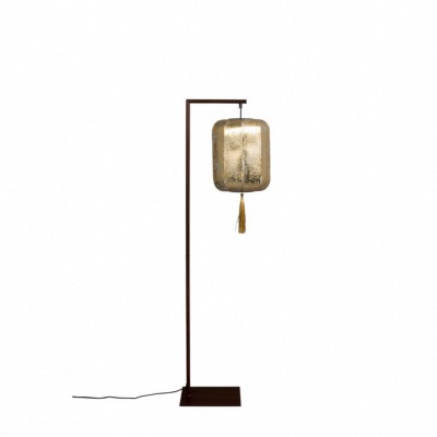 Lampadaire SUONI Gold L30xH32xP157 cm  Abat-jour or Dutchbone