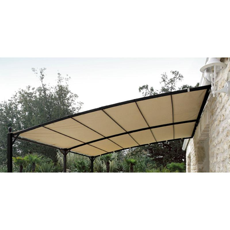 Tonnelle adosse awesome structure de tonnelle adosse sydney with tonnelle adosse awesome - Tonnelle adossee toile retractable ...