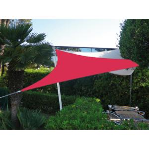 VOILE EASYSAIL TRIANGLE 4X4 FRAMBOISE