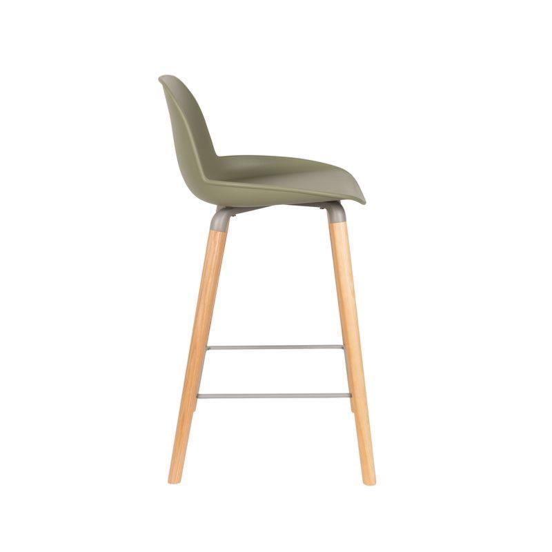 chaise haute albert kuip coloris vert 65 cm zuiver. Black Bedroom Furniture Sets. Home Design Ideas