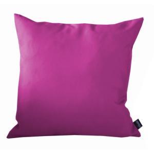 COUSSIN DECOR FRAMBOISE, en tissu polyester 180 gr, traité déperlant ...