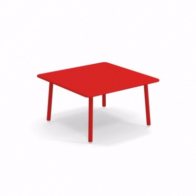 Table basse Darwin - rouge - 70 x 70 cm - EMU