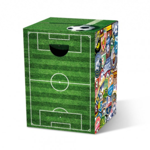 "Le tabouret en carton ""Soccer"" - Remember"