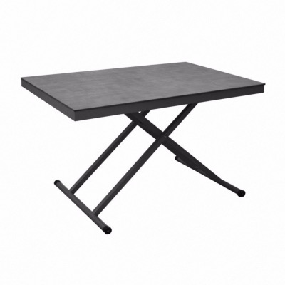 Table Relevable 120 X 80 Cm Plateau Trespa Oceo