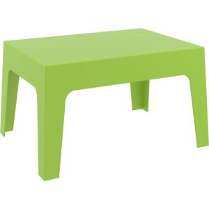TABLE BASSE BOX VERT ANIS EMPILABLE