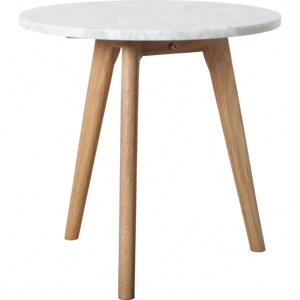 Table basse WHITE STONE M - 40x40 cm (Ø x H) - ZUIVER