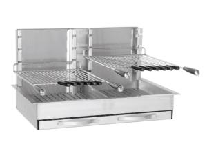 Gril encastrable 940 inox