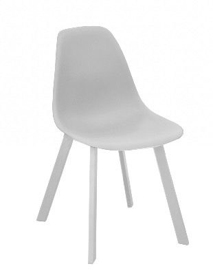 Chaise Chaise coque blanche fly