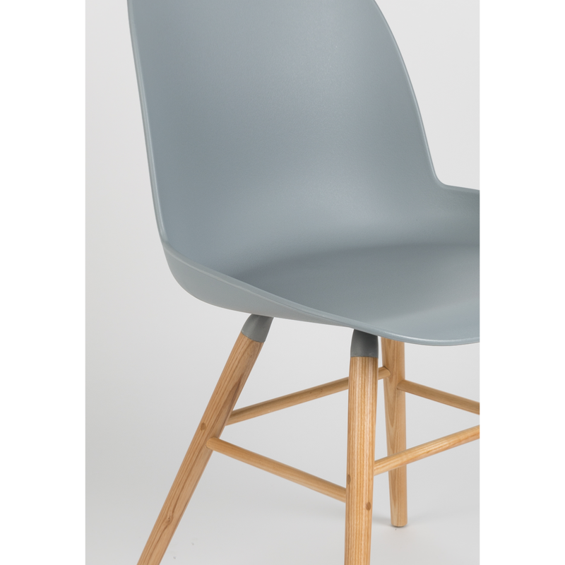 Chaise albert kuip coloris light grey zuiver for Chaise zuiver