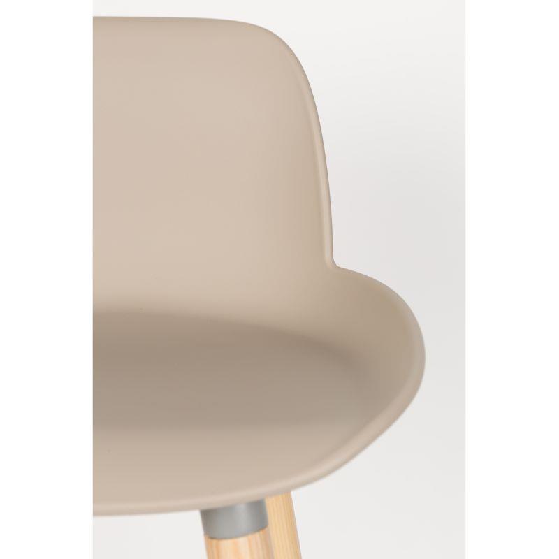 chaise haute albert kuip coloris taupe 65 cm zuiver. Black Bedroom Furniture Sets. Home Design Ideas