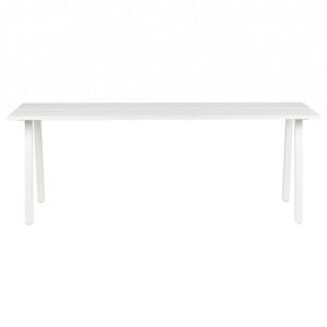 Table TRIOMF plateau bois coloris blanc - BE PURE