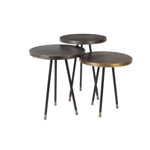 Table d'appoint ALIM set de 3 - DUTCHBONE