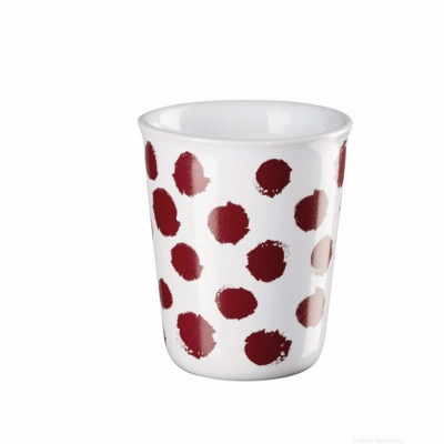 Gobelet Expresso Coppetta Pois rouges - ASA