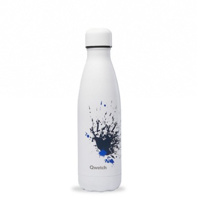 Bouteille isotherme collection SPRAY coloris blanc, 500ml