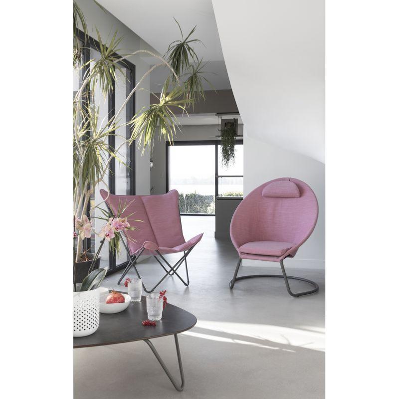 table basse cocoon plateau en stratifi compact hpl volcanic pied acier galvanis coloris titane. Black Bedroom Furniture Sets. Home Design Ideas