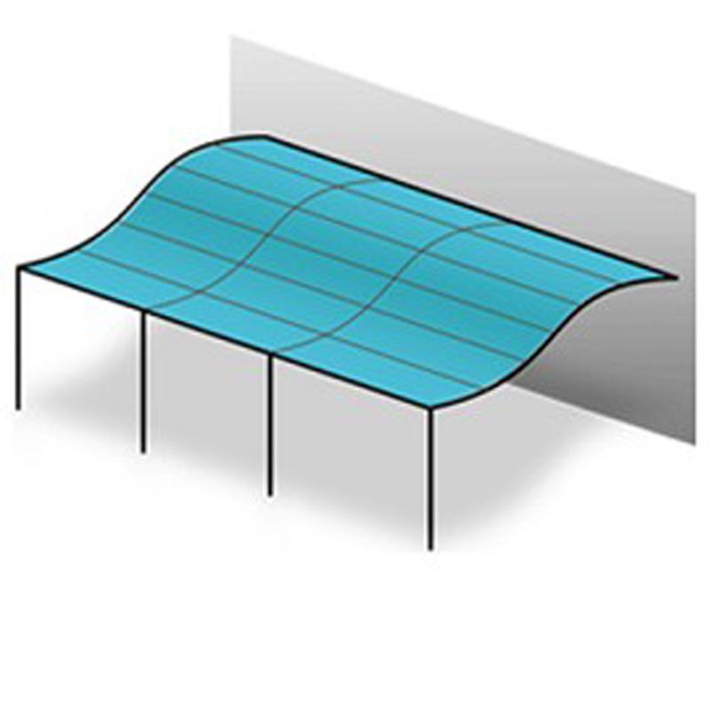 tonnelle 4x3m best toile de rechange pour pergola mecina xm toit de pavillon de jardin crme. Black Bedroom Furniture Sets. Home Design Ideas