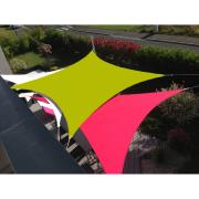 VOILE EASYSAIL CARREE 3X3 VERT ANIS
