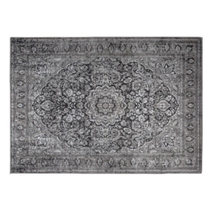 Tapis design CHI 160X230 cm coloris black