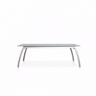 Table Fornix 220 x 100 cm plateau céramique grey stone - TODUS