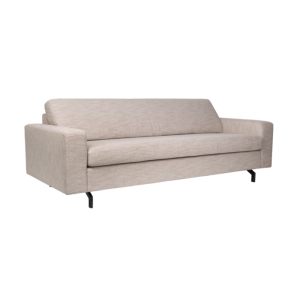 Canape JEAN 2,5 places coloris latte (blanc-gris) - ZUIVER