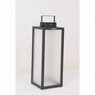 Les Lampe Alu Grand Tradition Modèle Solaire Anthracite Jardins 4Aj5LR
