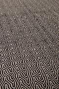 Tapis ZIGGY 120X180 tissé à la main coloris black ZUIVER
