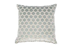 Coussin MONTY coloris light blue ZUIVER