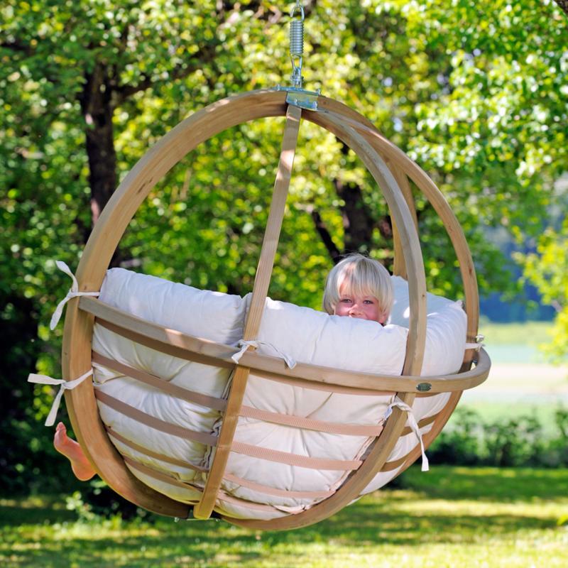 Globo chair fauteuil suspendu natura - Fauteuil de jardin suspendu ...