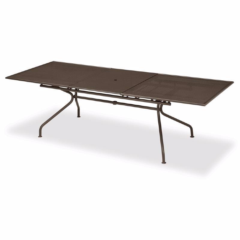 Table Metal De Jardin Allonges Nismo Des