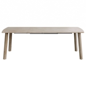 Table RODEO 140/180/220 x 85 x 75 cm - 2 rallonges escamotables - BE PURE