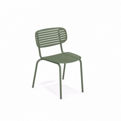 Chaise empilable MOM - Vert militaire - EMU