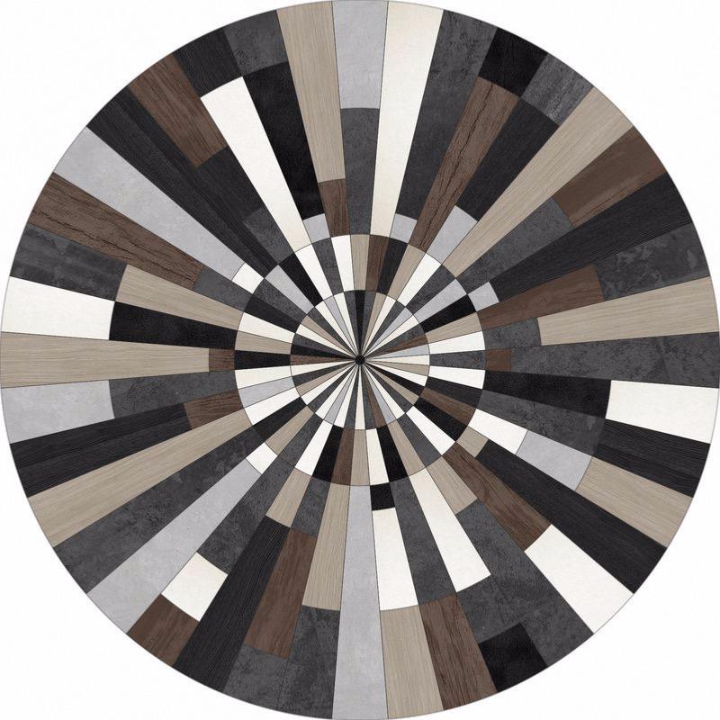 tapis rond en pvc 200 cm pdv 0022 podevache. Black Bedroom Furniture Sets. Home Design Ideas