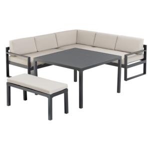 Salons bas mobilier de jardin design - Table basse 110x110 ...