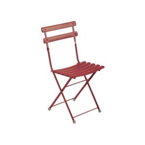 CHAISE ARC EN CIEL PLIANTE ROUGE