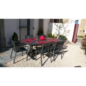 Table koton 190 285x105x75cm for Table extensible koton