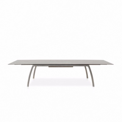 Table Fornix 260/335 x 100 cm plateau grey stone - TODUS