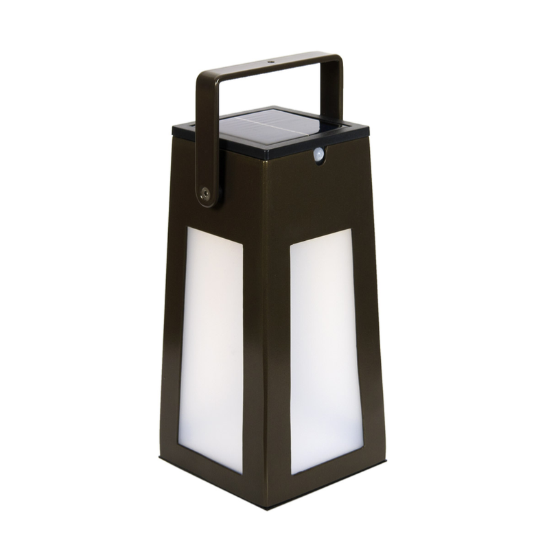 tinka marron lampe solaire led. Black Bedroom Furniture Sets. Home Design Ideas