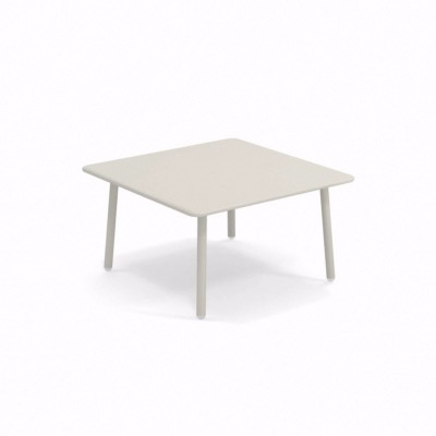 Table basse Darwin - blanc - 70 x 70 cm - EMU