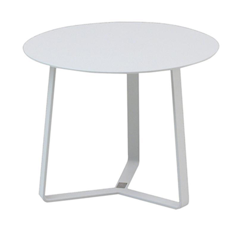 TABLE BASSE APOLLO Ø44 COLORIS BLANC
